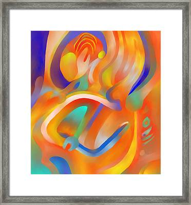 Musical Enjoyment Framed Print by Peter Shor