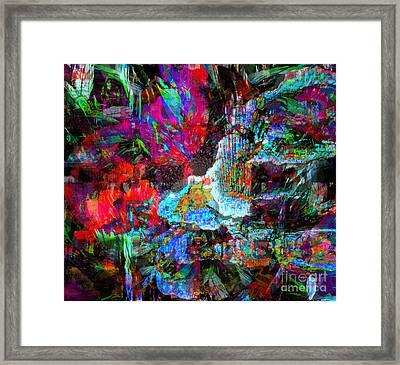Musical Fountain Framed Print by Fania Simon