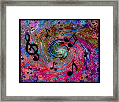 Musical Framed Print by Paintings by Gretzky