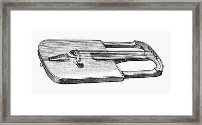 Musical Instrument: Crwth Framed Print by Granger