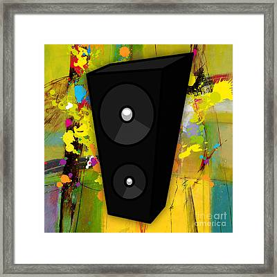 Musical Framed Print