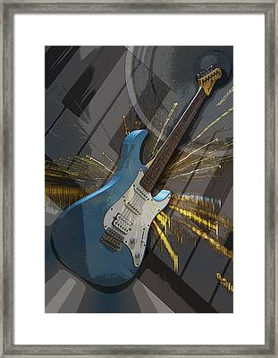 Musical Poster Framed Print
