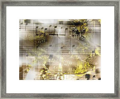 Musical Secrets Framed Print