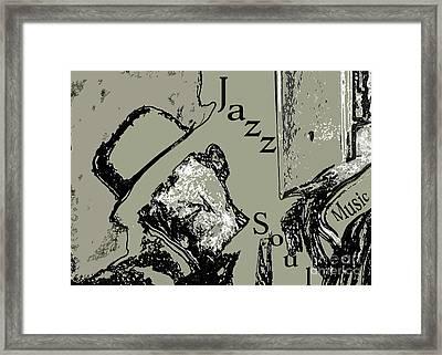 Musical Self Framed Print by Lance Sheridan-Peel