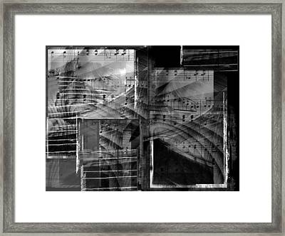 Musical Steps... Framed Print