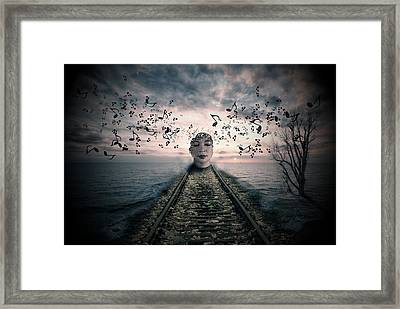 Musical Thoughts Framed Print by Nathan Wright