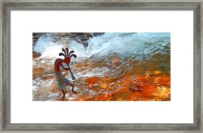 Musical Waters Framed Print