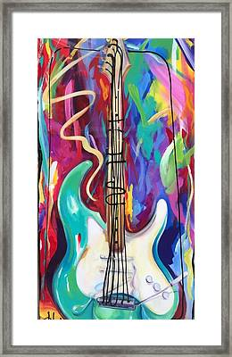 Musical Whimsy  Framed Print by Heather Roddy