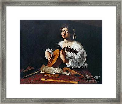 Musician 1600 Framed Print by Padre Art