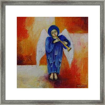 Musician. Framed Print by Evgenia Davidov