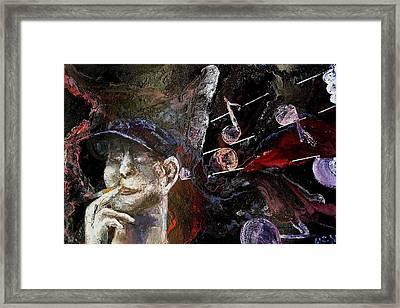 Musician Framed Print by Evguenia Men