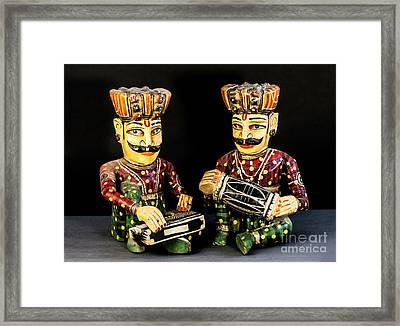 Musicians Framed Print by Charuhas Images