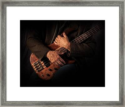 Musician's Hands Framed Print by David and Carol Kelly