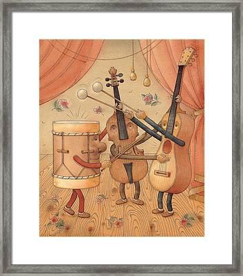 Musicians Framed Print by Kestutis Kasparavicius