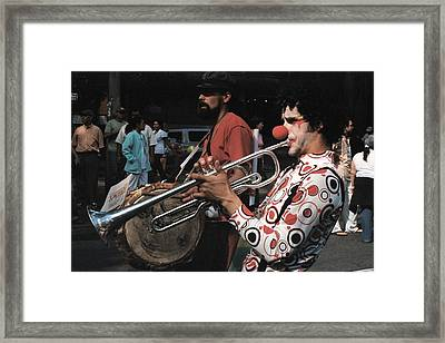 Musiclown Framed Print