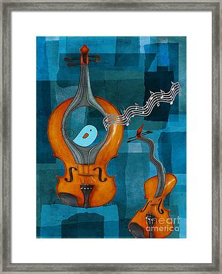 Musiko Framed Print by Aimelle