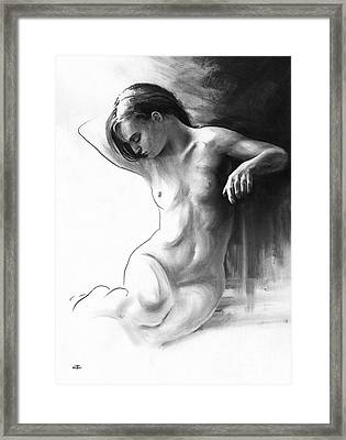 Musing And Contemplations Framed Print