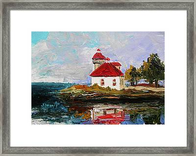 Musing-on The Point Framed Print by John Williams