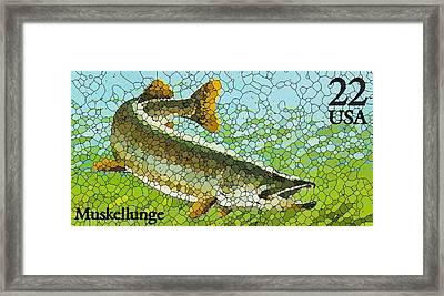 Muskellunge Framed Print