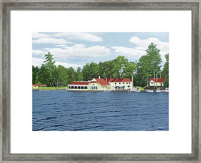Muskoka Lakes Golf And Country Club Framed Print by Kenneth M Kirsch