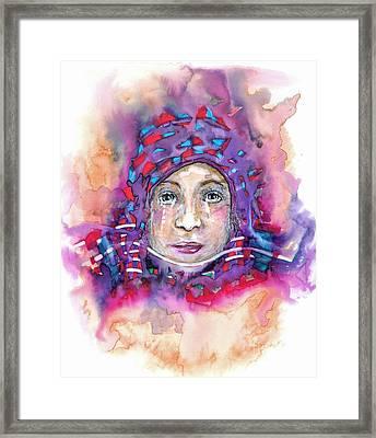 Muslim Framed Print by Joy Calonico