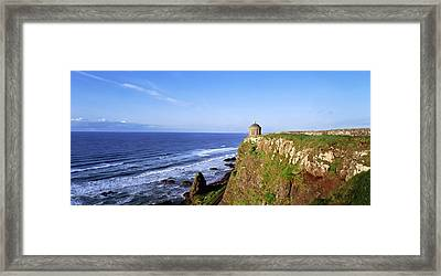 Mussenden Temple, Portstewart, Co Framed Print by The Irish Image Collection