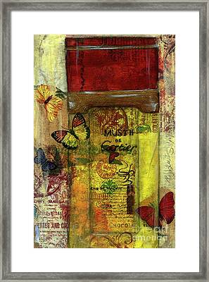 Framed Print featuring the painting Must De Cartier by P J Lewis