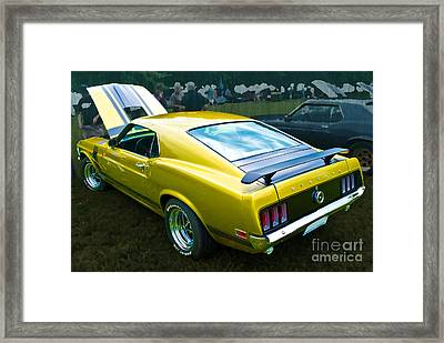 Mustang Boss 302 Framed Print