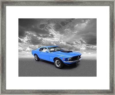 Mustang Boss 429 Framed Print