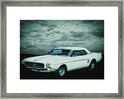 Mustang II Concept 1963 Framed Print