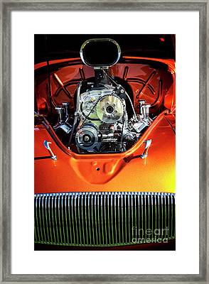 Framed Print featuring the photograph Muscle Engine by Scott Kemper