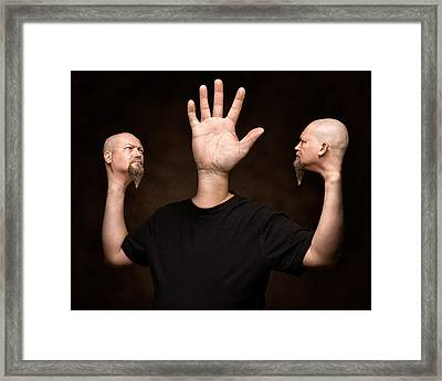 Mutation Framed Print by Petri Damsten