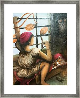 Mute Notes Framed Print