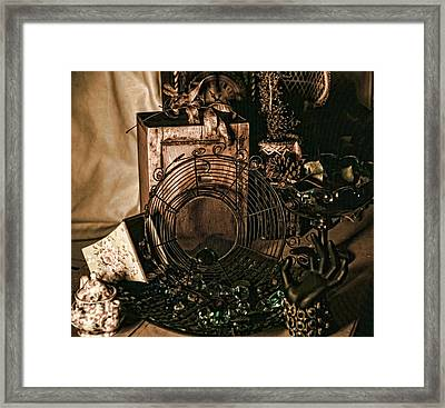 Muted Still Framed Print by Camille Lopez