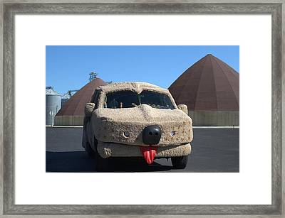 Mutt Cutts Dumb And Dummer Replica Vehicle Framed Print by Tim McCullough