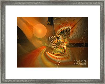 Mutual Respect - Abstract Art Framed Print