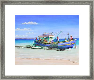 Mv Alice Mary Framed Print
