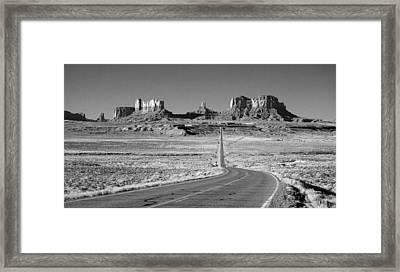 Mv Forrest Gump View Ir 0586 Framed Print