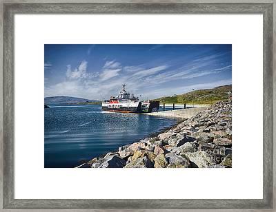 Mv Loch Alainn Framed Print