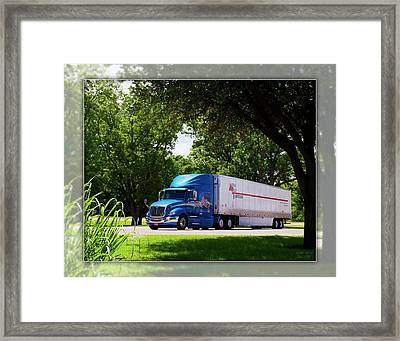 Mvt #4 Framed Print