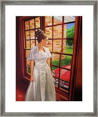 My 16th Birthday Gift Framed Print by Jose Renan Herrera