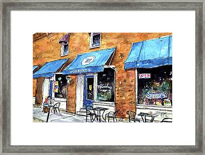 My 4th Ave Favorite Framed Print by Tim Ross