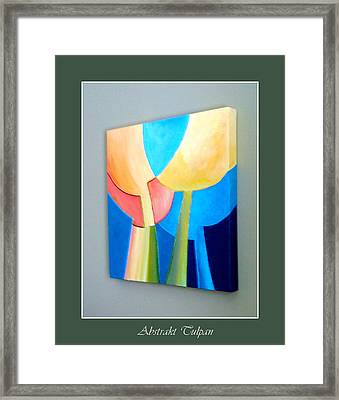 My Abstract Tulip Framed Print by Carola Ann-Margret Forsberg