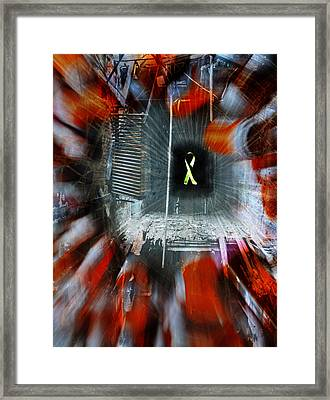 My Affliction Framed Print by Luke Moore