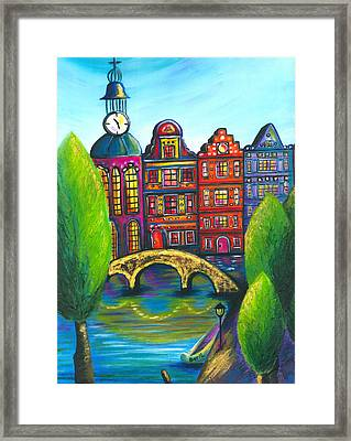My Amsterdam Framed Print by Beryllium Canvas