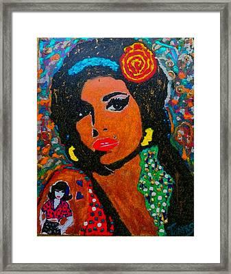 My Amy Winehouse Framed Print