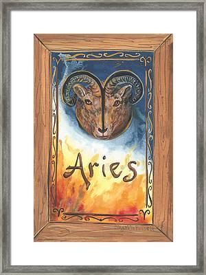 My Aries Framed Print