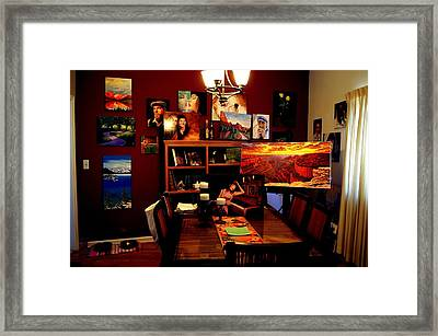 My Artwork At Home Framed Print