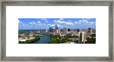 My Austin Skyline Framed Print by James Granberry