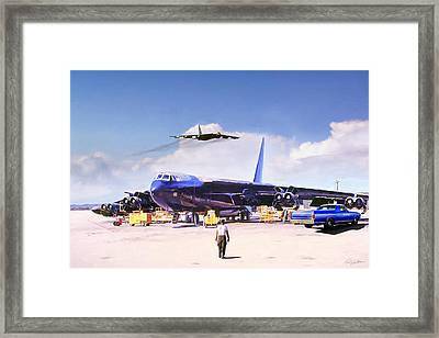 My Baby B-52 Framed Print